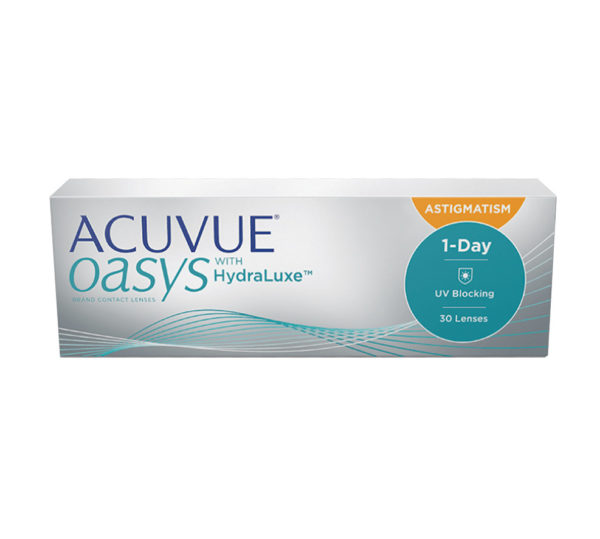 Acuvue Oasys HydraLuxe Toric (3 Months)