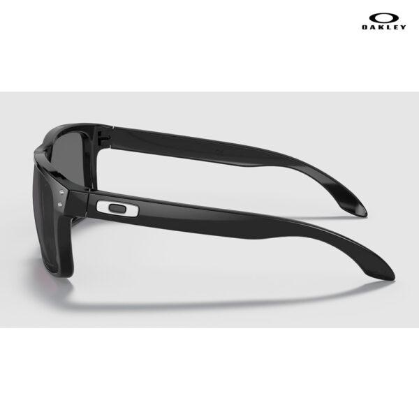 Oakley Holbrook™ (Low Bridge Fit) - Prizm Grey Lenses, Polished Black Frame