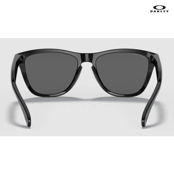 Oakley Frogskins™ (Low Bridge Fit) - Prizm Black Lenses, Polished Black Frame