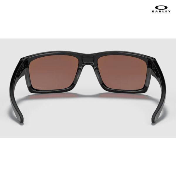 Oakley Mainlink™ XL - Prizm Deep Water Polarized Lenses, Polished Black Frame