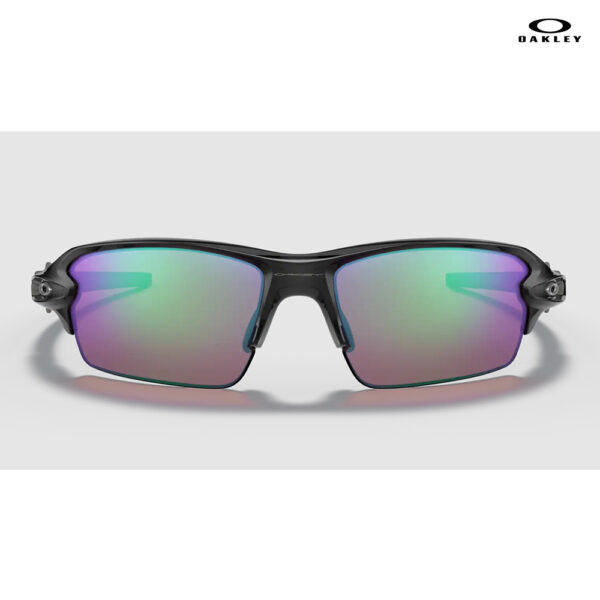 Oakley Flak® 2.0 (Low Bridge Fit) - Prizm Golf Lenses, Polished Black Ink Frame