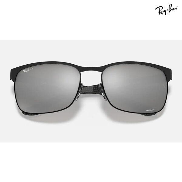 Ray-Ban Chromance Black Frame (Polarized / Silver Mirror Chromance)